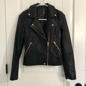 NWOT BlankNYC Vegan Leather Motorcycle Jacket